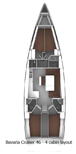 Bavaria Cruiser 46 - 4 cab. (Ilona 4)  - 2