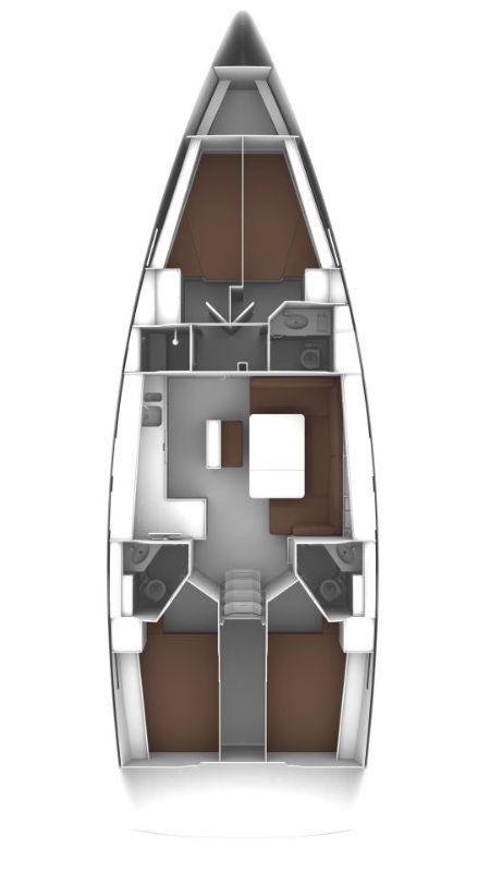Bavaria Cruiser 46 - 4 cab. (Saphir)  - 1