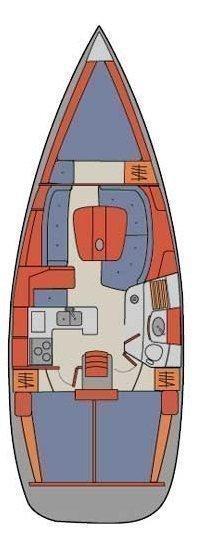 Oceanis Clipper 361 (Patmos)  - 1