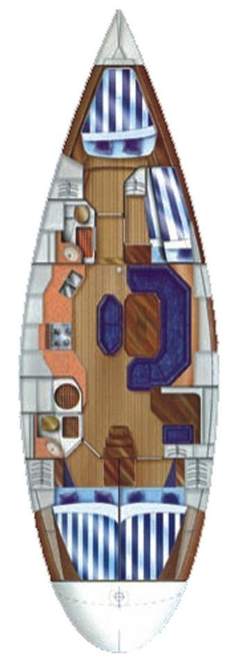Dufour 45 Classic (Pasja SKIPPERED)  - 1