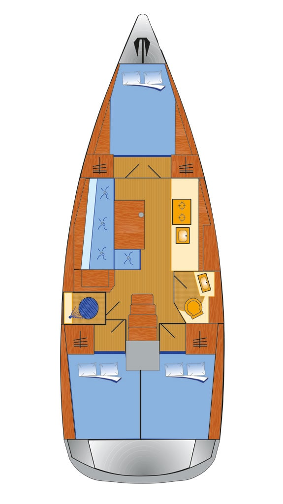 Oceanis 38.1 (Flip)  - 1