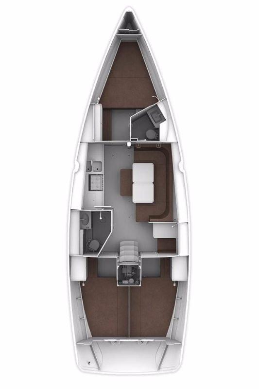 Bavaria Cruiser 41S (Viviane II (12))  - 1