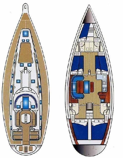Ocean Star 51.2 - 5 cab. (Stavroula)  - 1