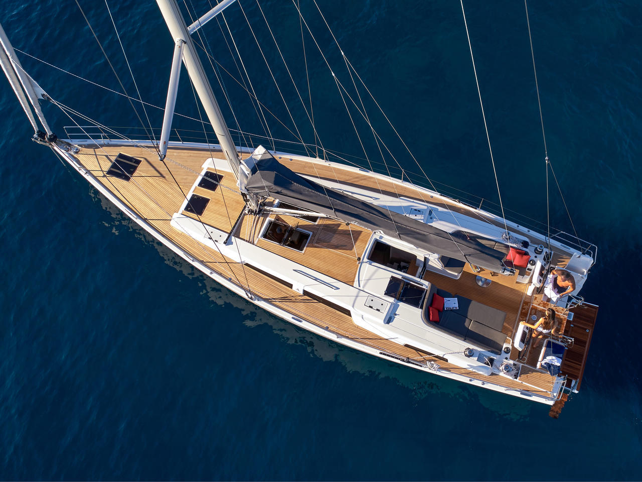 Hanse 508 - 5 + 1 cab. (License to Chill)  - 4