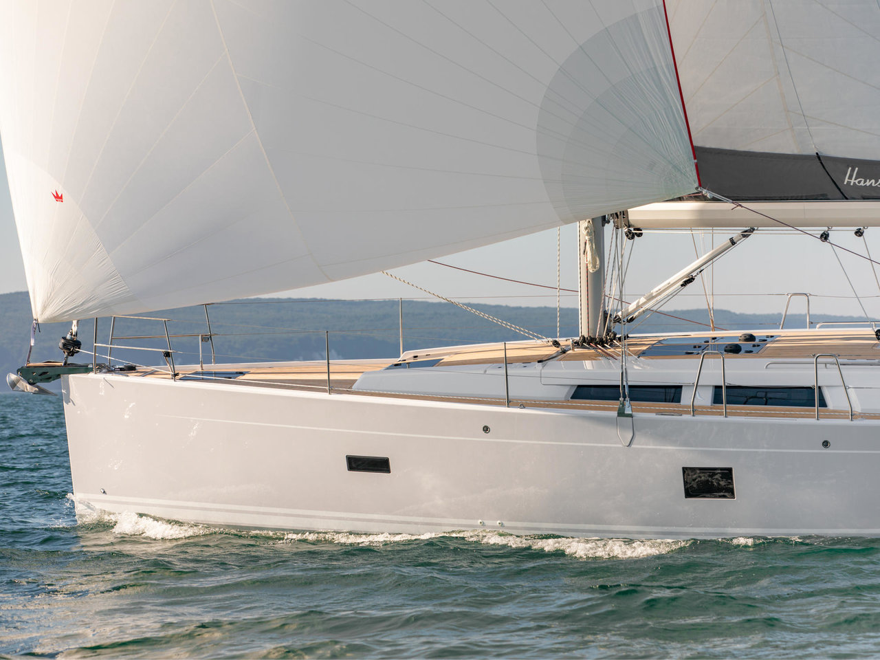 Hanse 458 (C-YA)  - 3