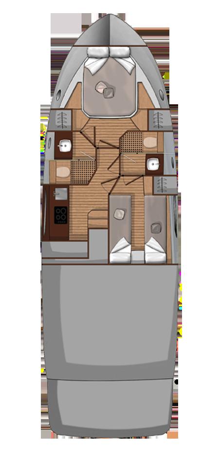 Sessa Fly 42 - 2 cab. (Jupika II)  - 23