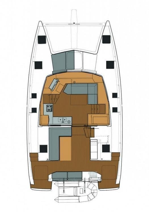 Fountaine Pajot Lucia 40 (Luce, A/C - Generator, A/C, Watermaker)  - 1