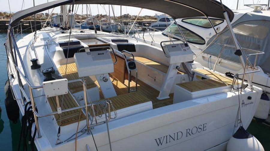 Hanse 455 (Wind Rose)  - 4