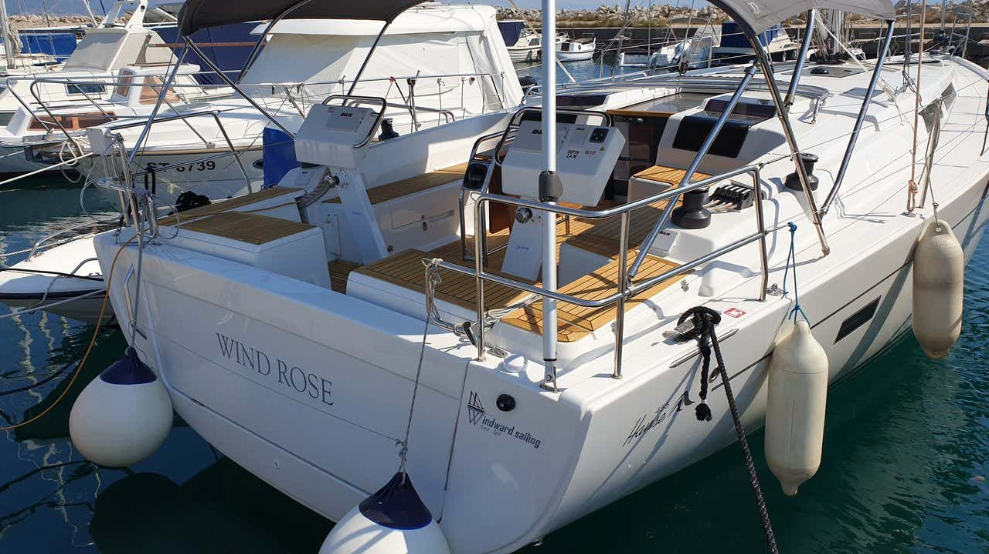 Hanse 455 (Wind Rose)  - 5