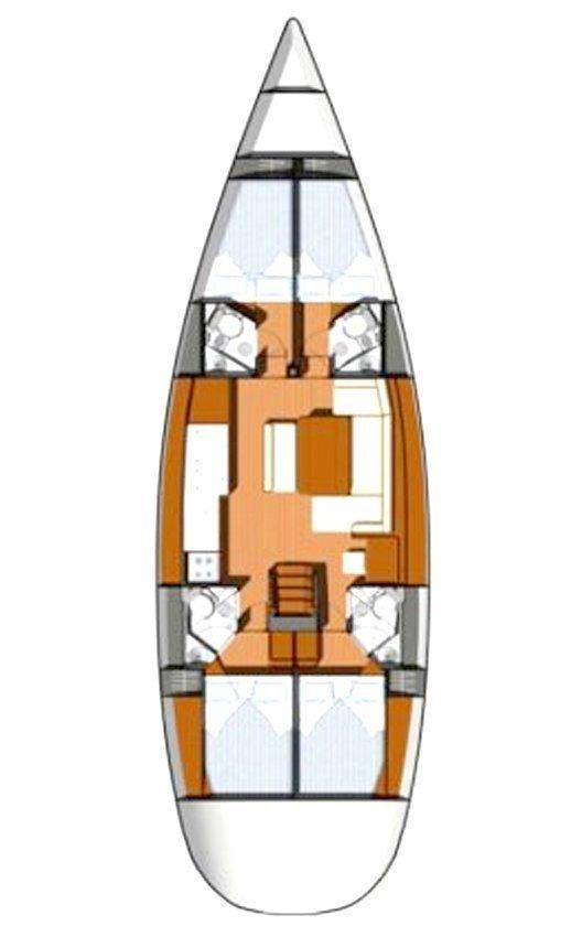 Sun Odyssey 49i (Monia)  - 1