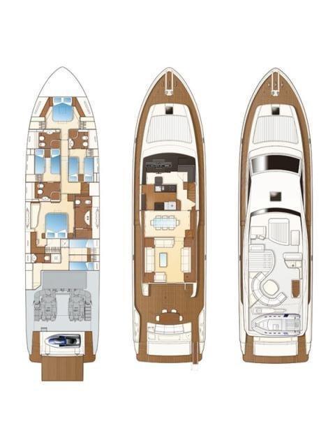 Ferretti Yachts 780 HT (Orlando L)  - 1