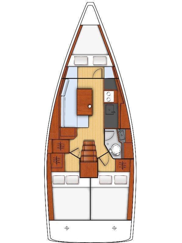 Oceanis 35 (DalMar)  - 1