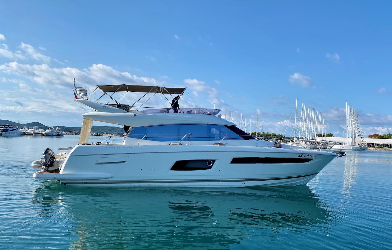 Prestige 550S Flybridge (Floria)  - 0