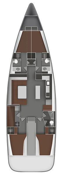 Bavaria Cruiser 55 - 5 cab. (Iris III)  - 1