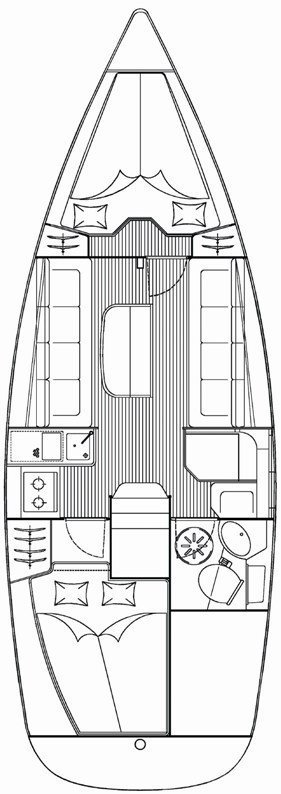 Bavaria 30 Cruiser (La Luna)  - 1