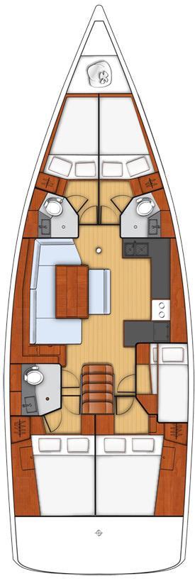Oceanis 48 - 5 cab. (Anthea)  - 1