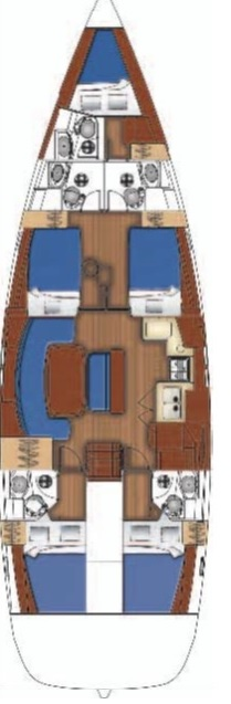 Oceanis Clipper 523 (Ninfea)  - 1