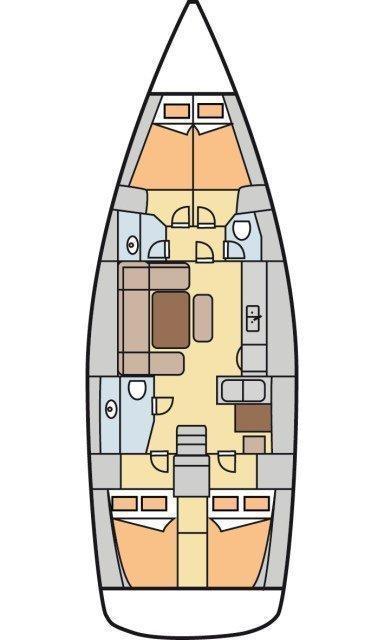 Dufour 450 GL (Maroussa)  - 1
