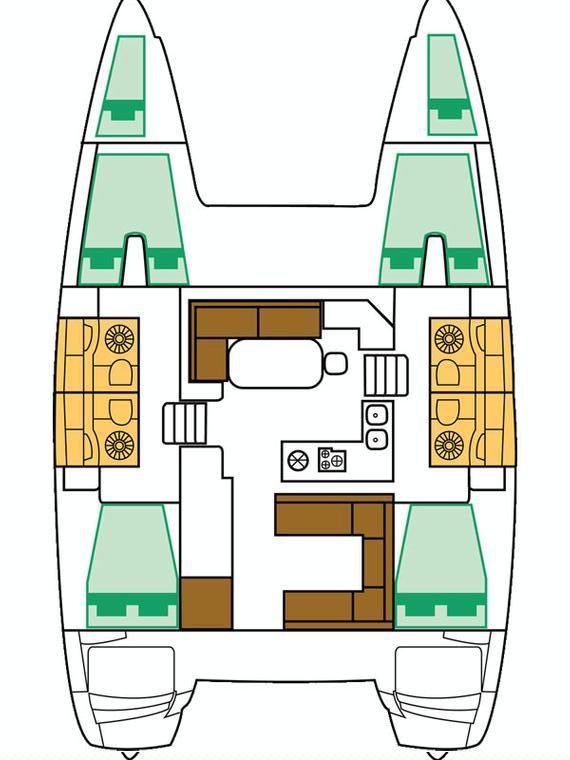 Lagoon 400 S2 - 4 + 2 cab. (Martina One)  - 1
