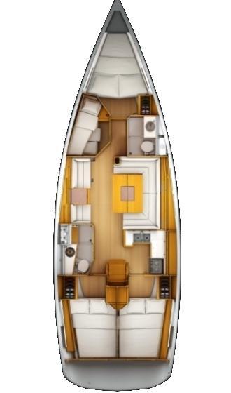 Sun Odyssey 439 (Marina I)  - 1