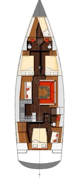 Wauquiez Pilot Saloon 55 OW (ADIQELL)  - 1