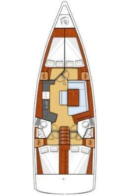 Oceanis 45 - 4 cab. (Mediterraneo)  - 1