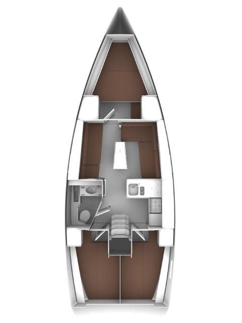 Bavaria Cruiser 37 - 3 cab. (Polo)  - 1