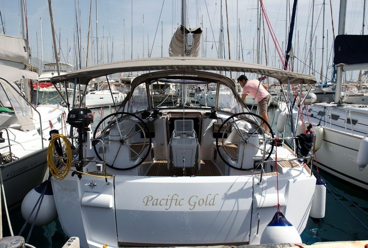 Sun Odyssey 479 - 4 cab. (Pacific Gold)  - 0