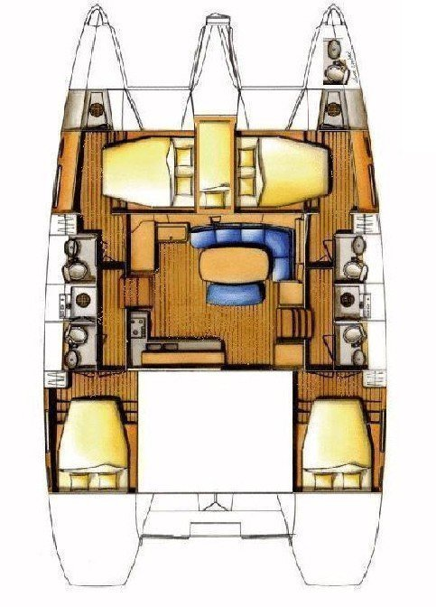 Lagoon 420 - 6 cab. (Sofia VI)  - 1