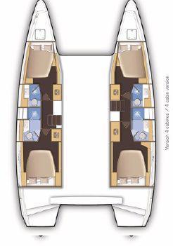 Lagoon 46 - 4 + 2 cab. (keYMA)  - 1