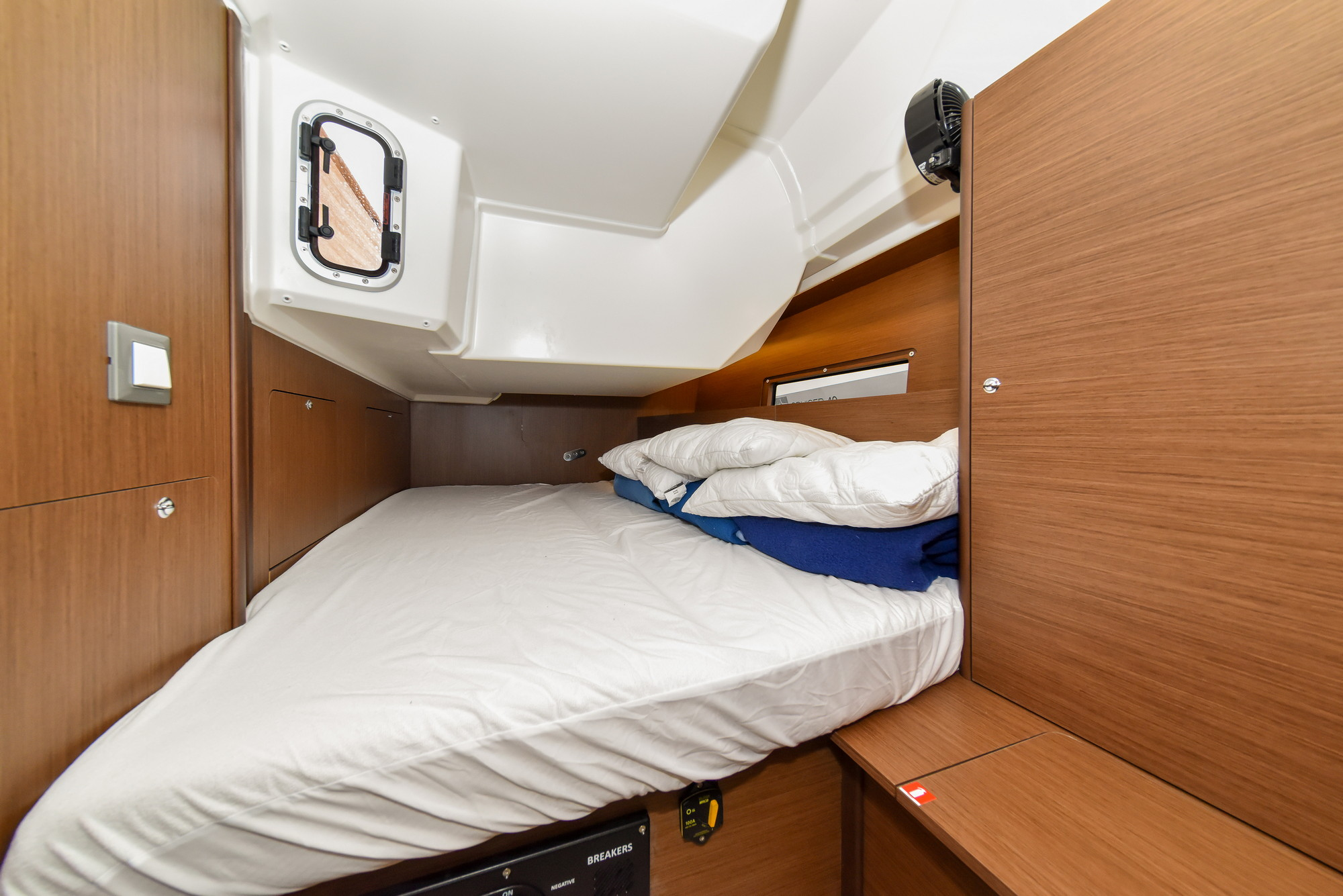 Oceanis 40.1 - 3 cab. (Eylin with A/C and generator)  - 26