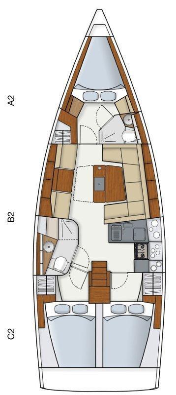 Hanse 415 (Vega)  - 1
