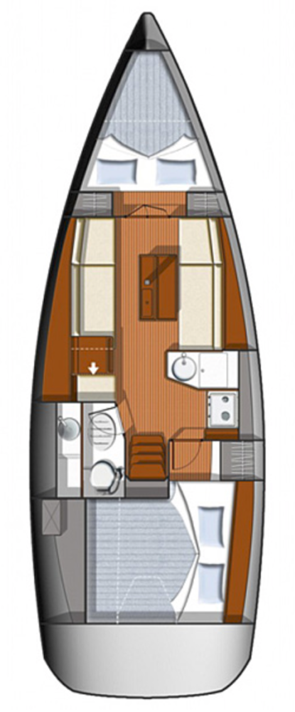 Sun Odyssey 33i (Britannia)  - 1