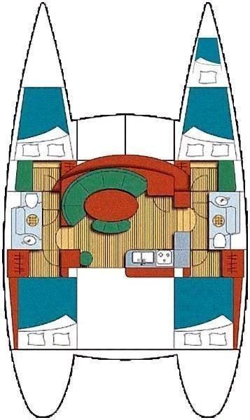 Lagoon 380 - 4 + 1 cab. (QUEEN MIA)  - 1