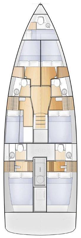 Sun Loft 47 - 6 + 1 cab. (FREESIA)  - 1