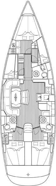 Bavaria 50 Cruiser (Muškat)  - 1