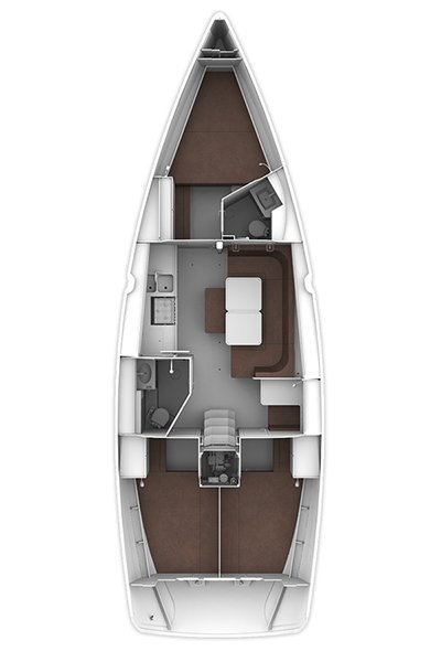 Bavaria Cruiser 41 - 3 cab. (Flipper)  - 16