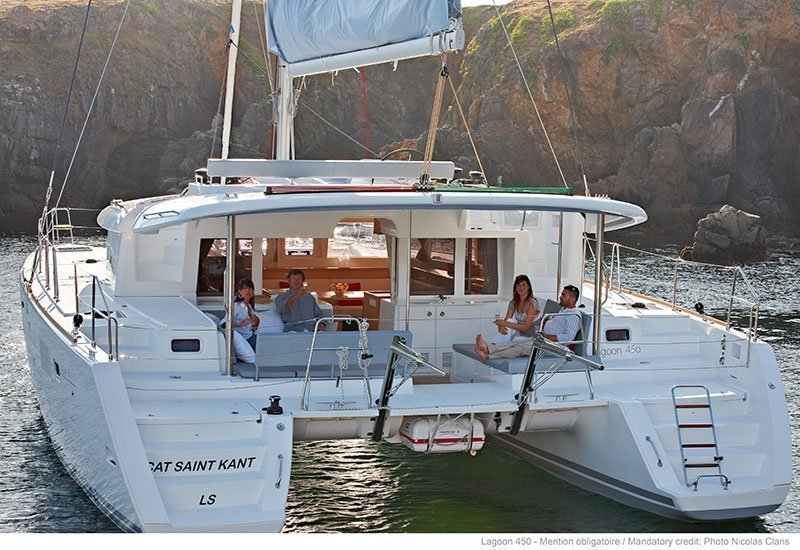 Lagoon 450 - 4 + 2 cab. (Sailing Blue 5 (Air conditioned))  - 2