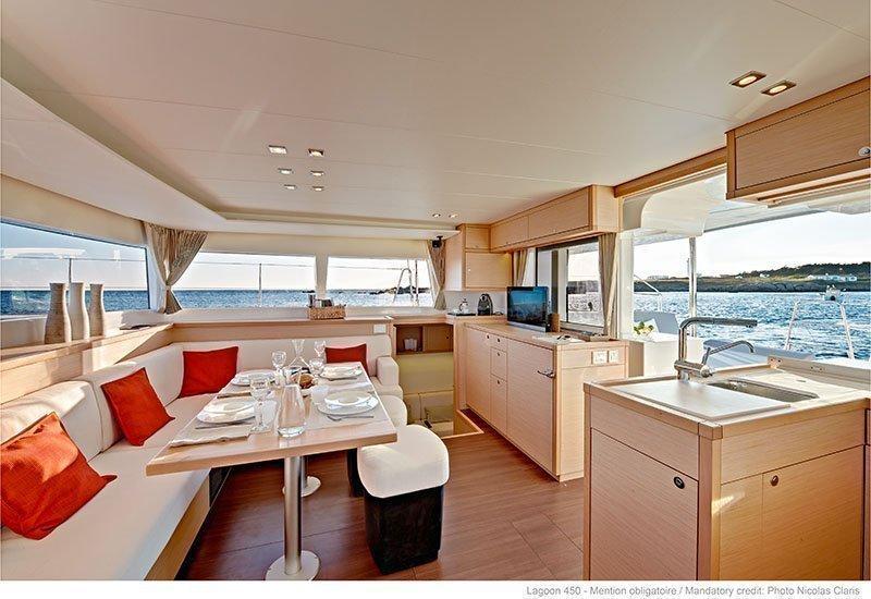 Lagoon 450 - 4 + 2 cab. (Sailing Blue 5 (Air conditioned))  - 4