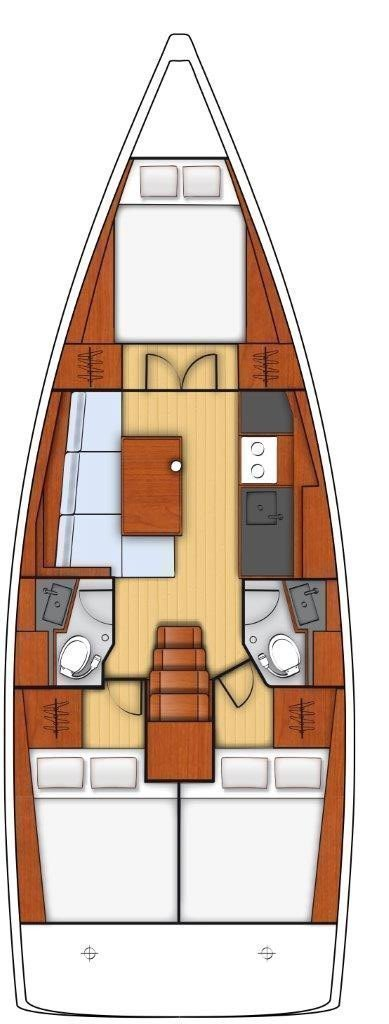 Oceanis 38.1 (Aura)  - 7