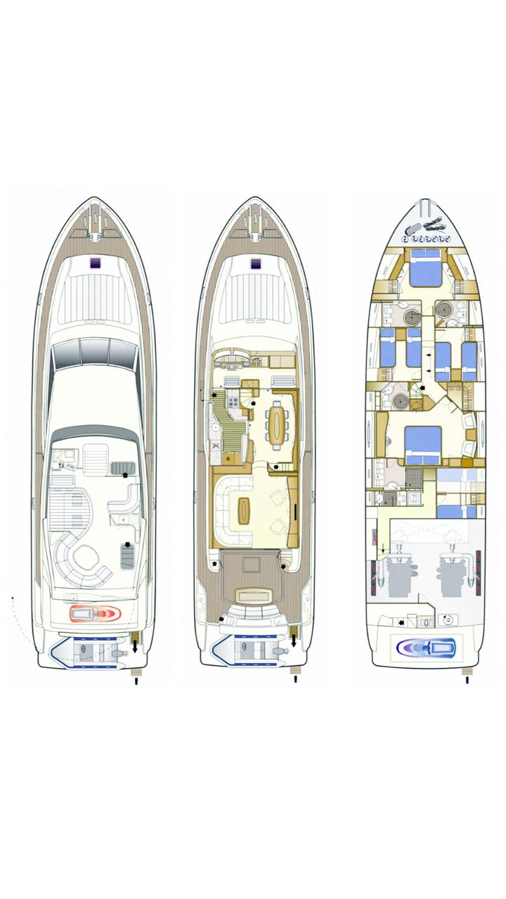 Ferretti Yachts 760 (Quo Vadis I)  - 1