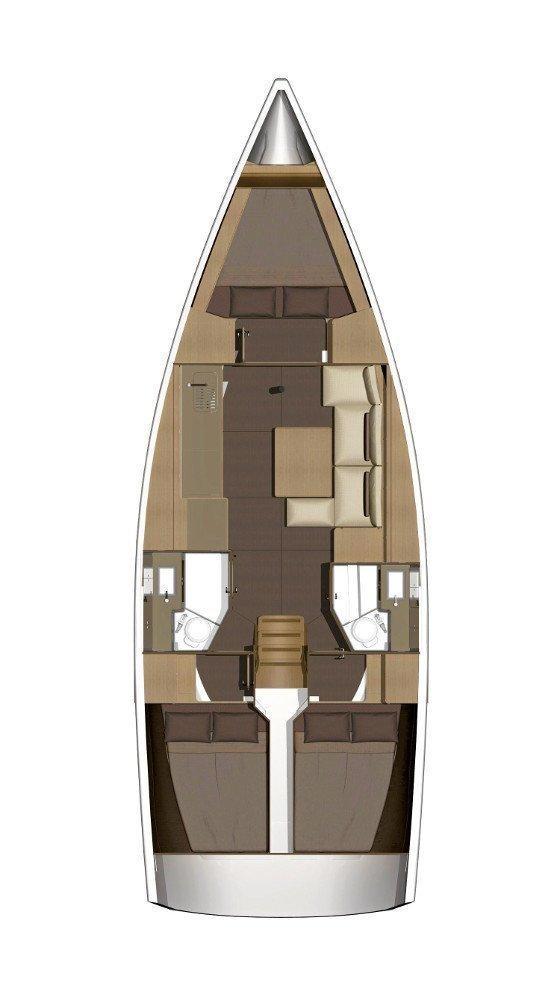 Dufour 382 GL (Diniva II)  - 1