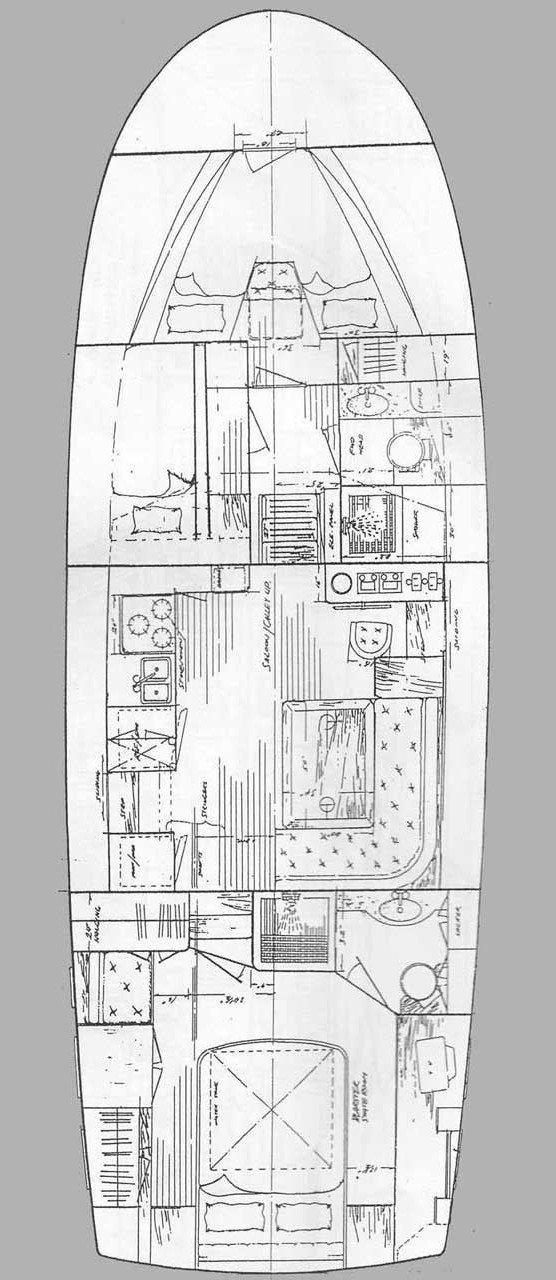 Trawler HAMPTON 42 (SEA LION)  - 17