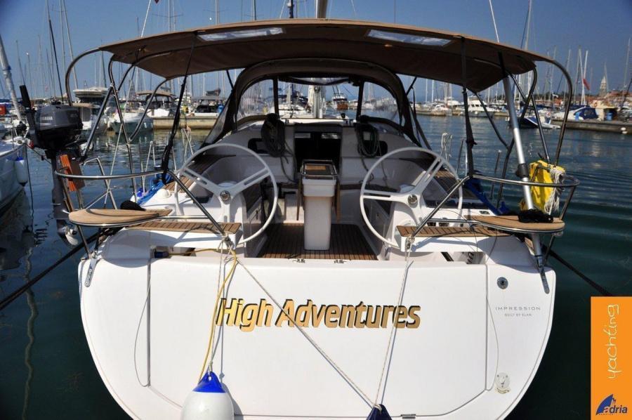 Elan Impression 45 (High Adventures)  - 2
