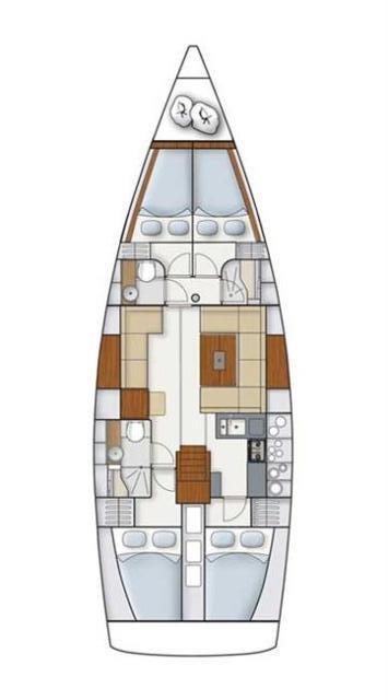 Hanse 445 (Lynn)  - 1