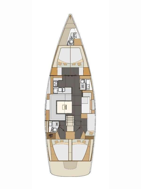 Elan Impression 50 - 5 + 1 cab. (Sea Duce)  - 1