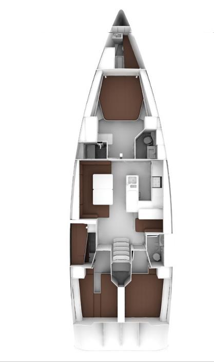 Bavaria Cruiser 56 (Miles)  - 1