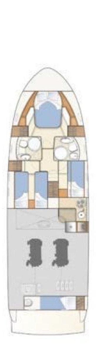 Ferretti Yachts 460i (Bluebell)  - 1