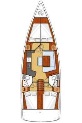 Oceanis 45 - 4 cab. (Parija II)  - 1