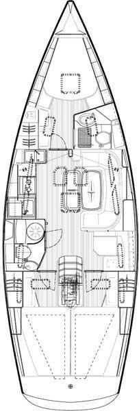 Bavaria 40 Cruiser (Juliana)  - 7
